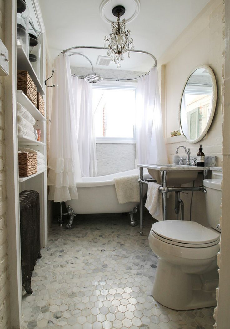 25 best ideas about small vintage bathroom on pinterest for Classic bathroom ideas