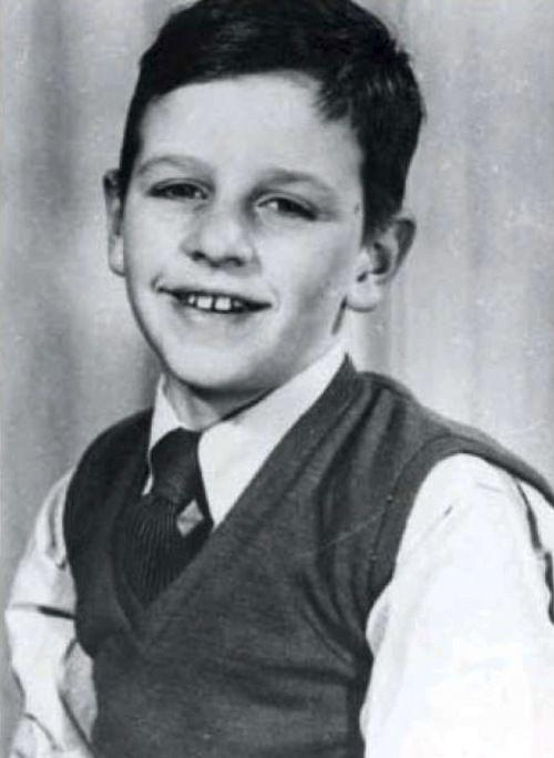 Ringo Starr as a boy