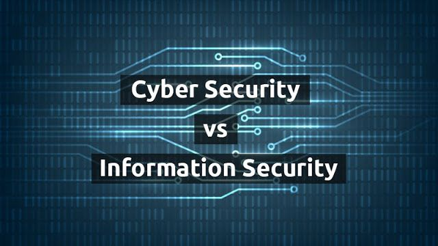 Cybersecurity Vs Information Security Cyber Security Security Cyber