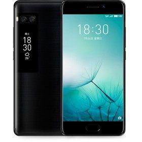 Meizu Pro 7 4G Helio P25 Octa Core 4GB 64GB Smartphone 5.2 Inch Fingerprint Type-C 2*12MP Dual Rear Cam Black