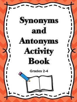 Synonyms and AntonymsThis activity will provide students will help students identify synonyms and antonyms. This activity book will be a great way for students to increase their skills in language arts. This product was created using the Common Core Standards and the Texas Essential Knowledge and Skills.Just print, copy, and laminate for a resource to use again and again.
