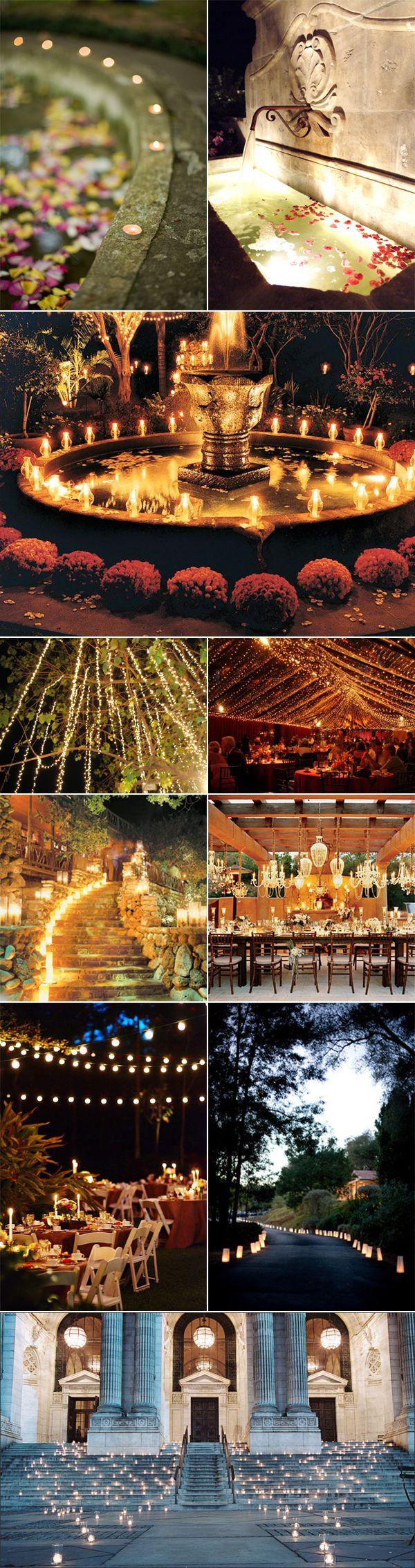 Outdoor Wedding Lighting | Lighting For Your Outdoor Wedding Reception Venue | Pixel & Ink