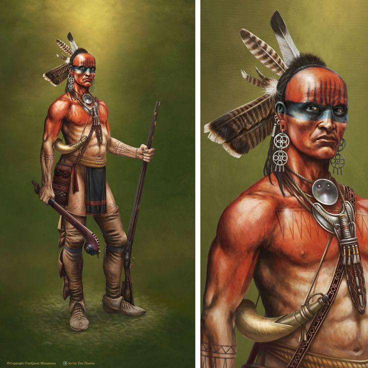 Cherokee Black War Paint Designs
