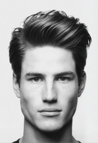 """""""The Ivy League Blow-Back""""-Men's Hairstyles 2012. There's actually a name for this"""