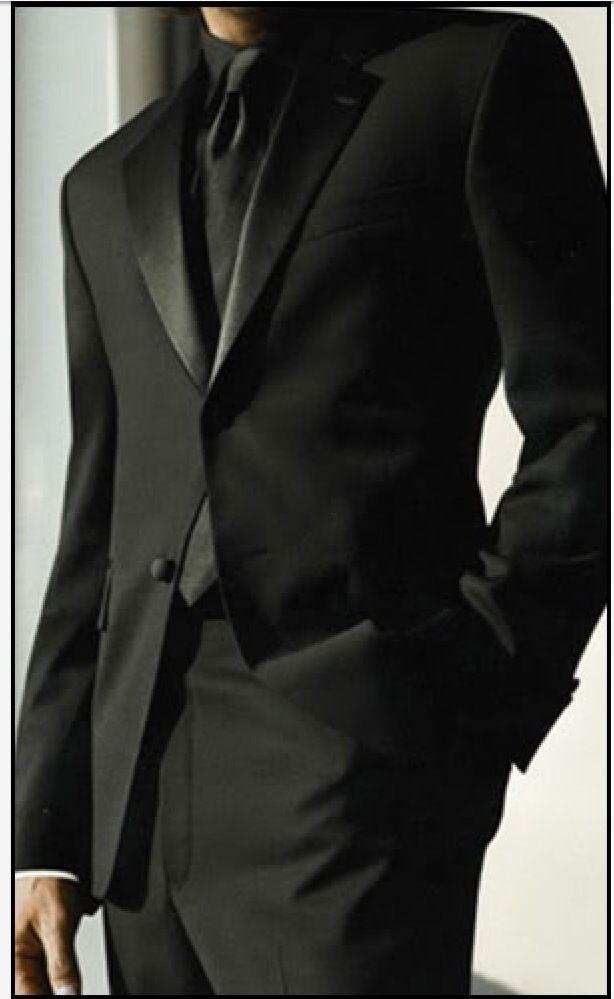 all black tuxedo wedding - Google Search