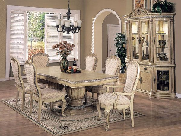 Antique White Dining Room Best Decorating Inspiration
