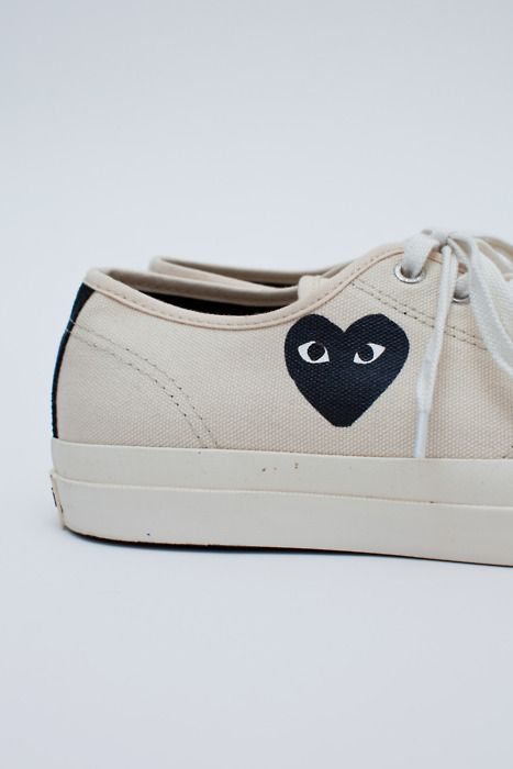 oh. my. - commes des garcons - play http://rsvpgallery.com/index.php?product=COMME+DES+GARCONS+-+COMME+DES+GARCONS+X+JACK+PURCELL+CONVERSE+WOMENS+-+WHITE+-+BLACK+HEART&shop=1&family=Comme+des+Garcons+Play