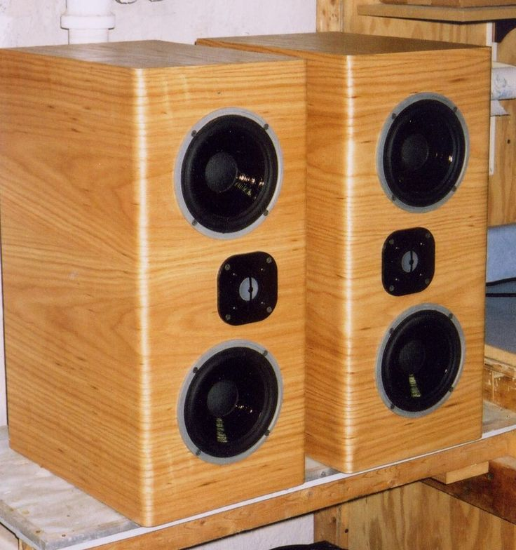 17 Best Images About Wood Speakers Ideas On Pinterest
