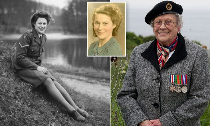 Teenage girl who lied about her age to wangle herself a job at war... and ended up becoming Montgomery's chauffeur as he oversaw the Battle of Normandy