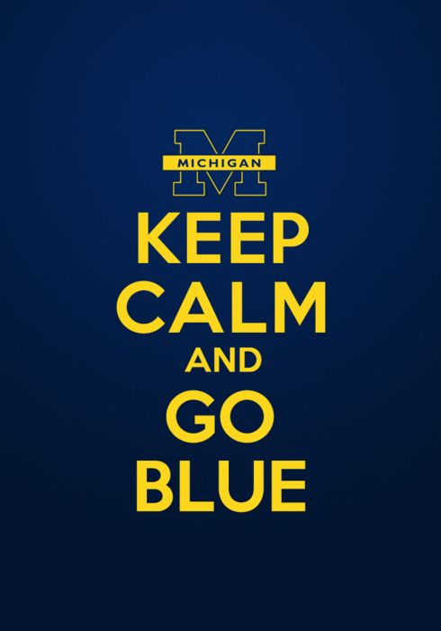 bleeding maize and blue forever!Football Seasons, Iphone Backgrounds, Puree Michigan, Michigan Wolverine, Fashion Style, Blue Time, Go Blue, Univers Of Michigan, Keep Calm