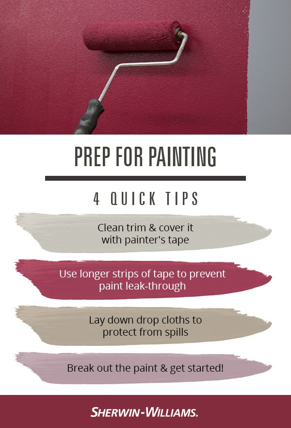 Get Walls Ready To Paint Paint Sheen Paint Prep Painters Tape