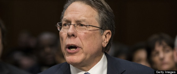 "Because a gun is going to do a lot against a hurricane. ""Wayne LaPierre: More Guns Needed For 'Hellish World' Filled With Hurricanes, Kidnappers, Drug Gangs""."