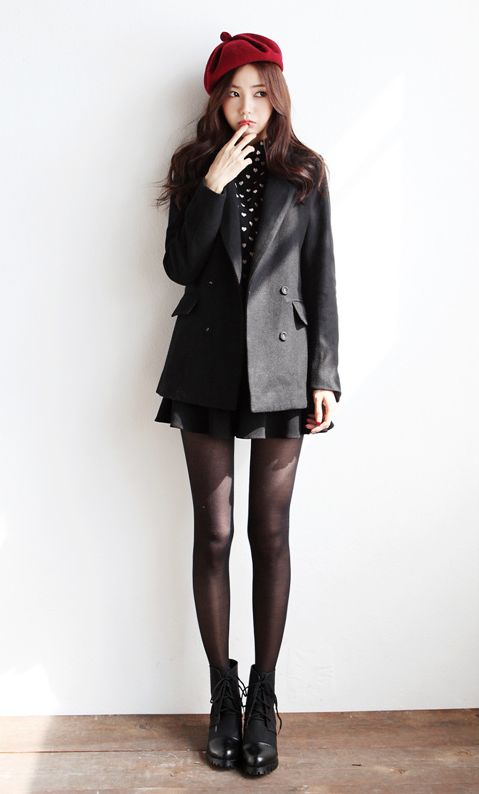 Itsmestyle to look extra k-fashionista ♥ www.itsmestyle.com #fashion   I love this entire outfit!