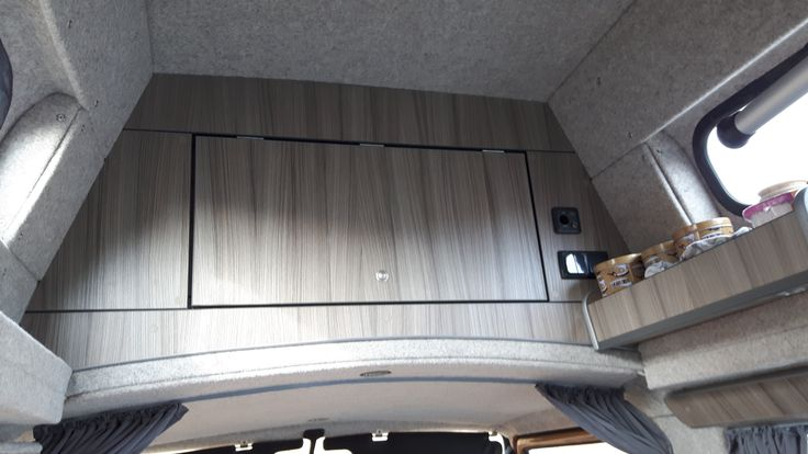 Lots of roof storage T25 High top  http://www.cloverfieldcampervans.co.uk/