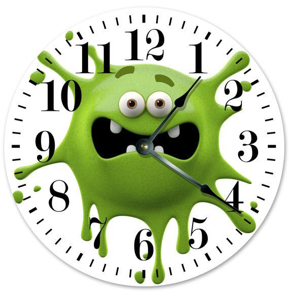 Image result for the monster screwed the clock