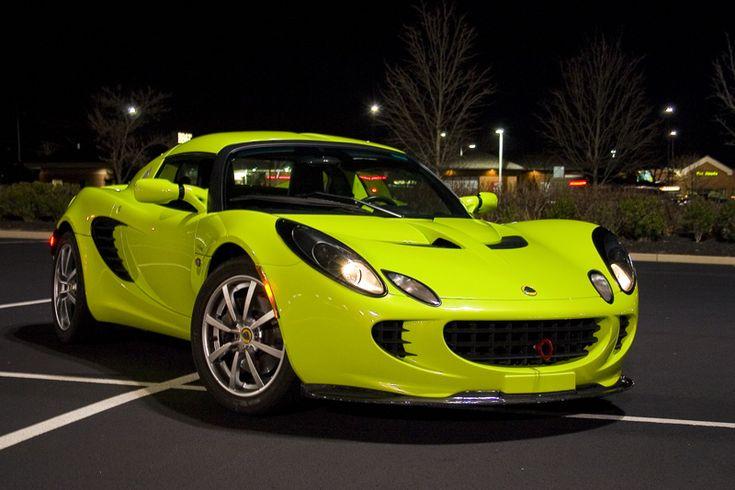 Lotus Elise in Krypton Green <3....My Dream car!