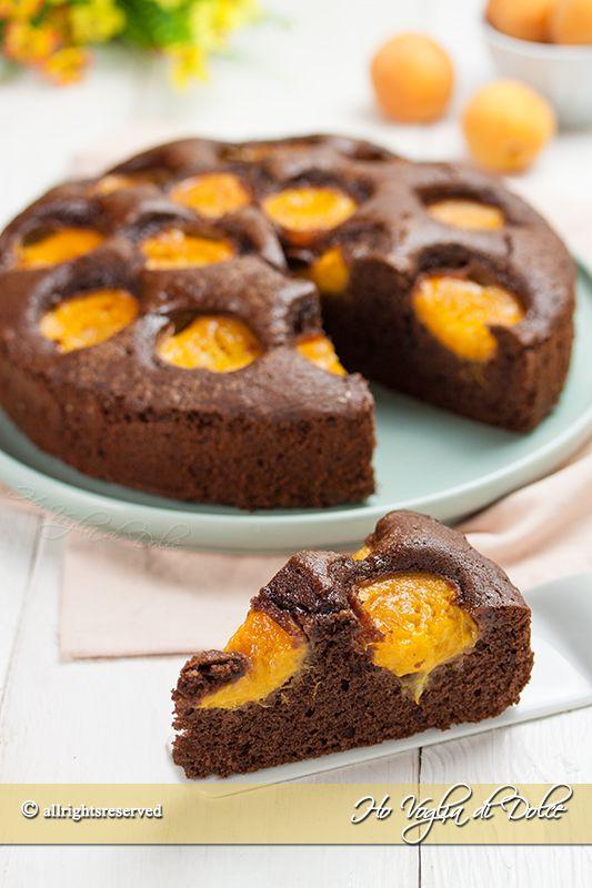 Torta cioccolato e albicocche ricetta Ho Voglia di Dolce