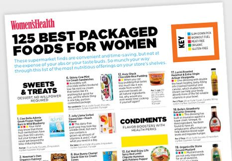 The Grocery Store Guide: The healthiest packaged food