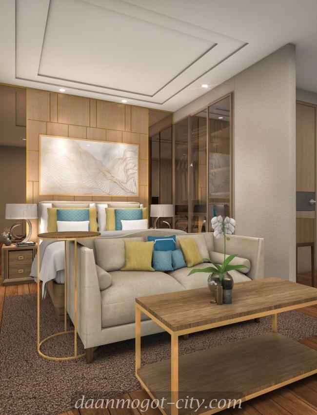 Contoh interior design apartemen Daan Mogot City #apartemendamoci