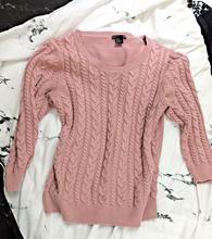 Cozy Light Pink Jumper