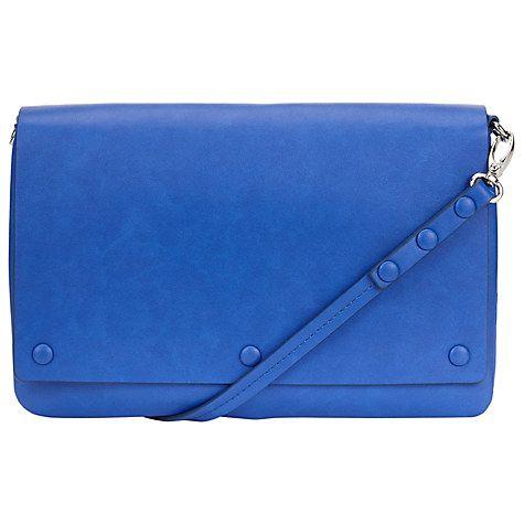 Buy Kin by John Lewis Clare Across Body Bag, Cobalt Online at johnlewis.com