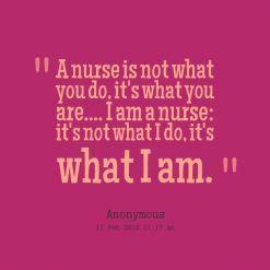 Inspirational nursing quote
