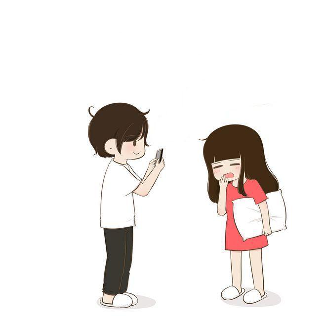 Darling My Love I Go To Sleep Bebe Cute Love Cartoons Animated Love Images Cartoons Love