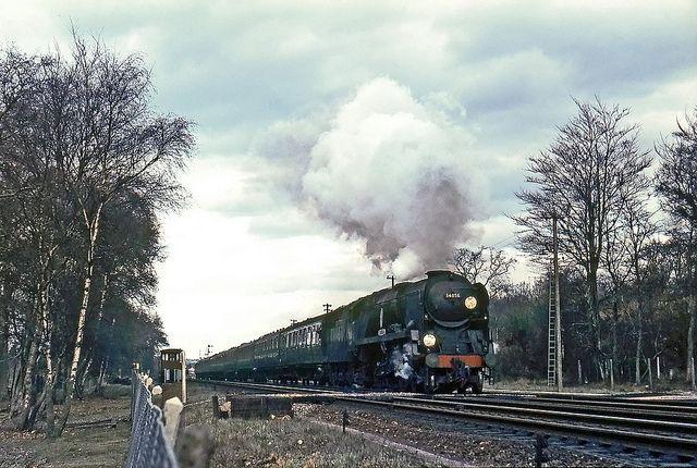 34056 CROYDON, Brockenhurst, March 1967