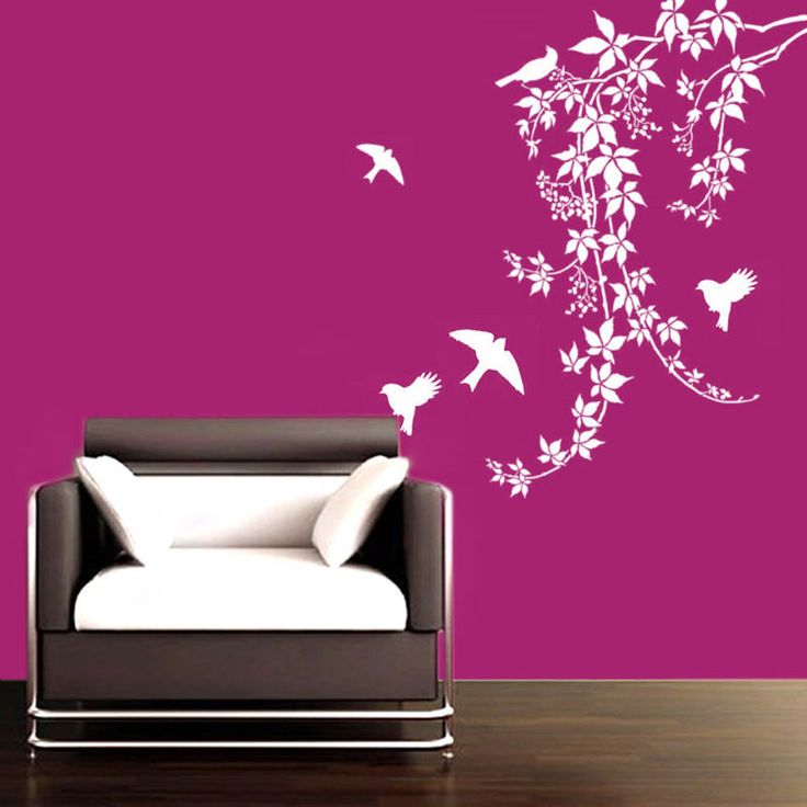 """""""I want to sing like the birds sing, not worrying about who hears or what they think."""" #homedecor #walldecal #birds"""
