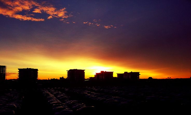 City Sunset by CreationPicture on Etsy