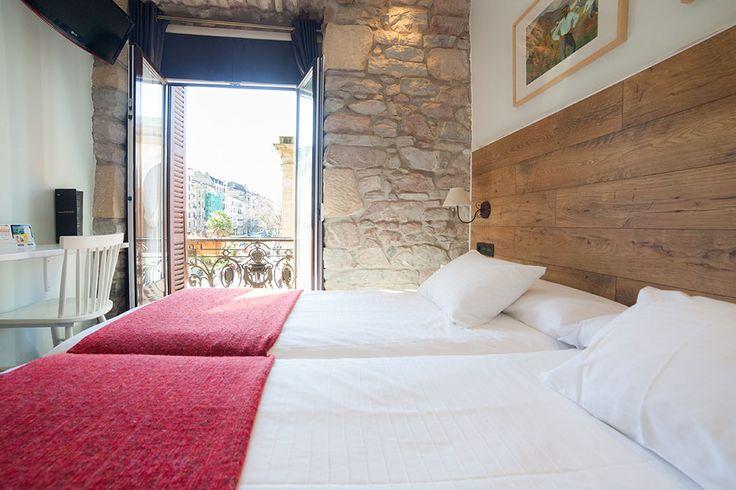 Double room with balcony - Pensión Aldamar ** San Sebastián
