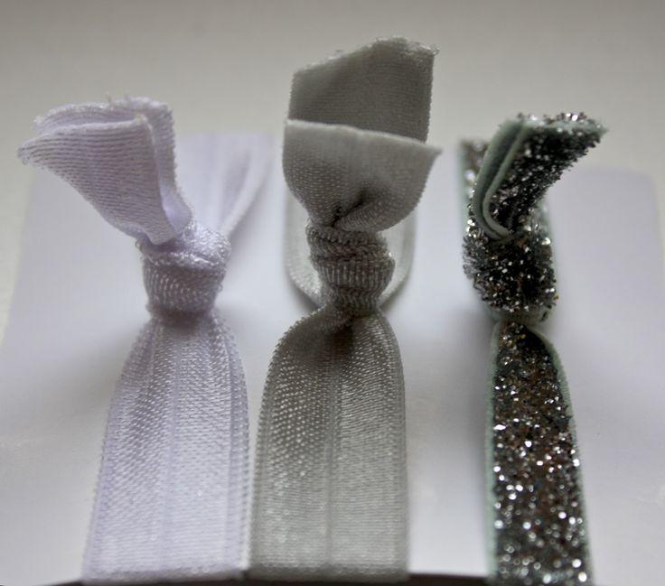 DIY Ribbon Elastic Hair Ties