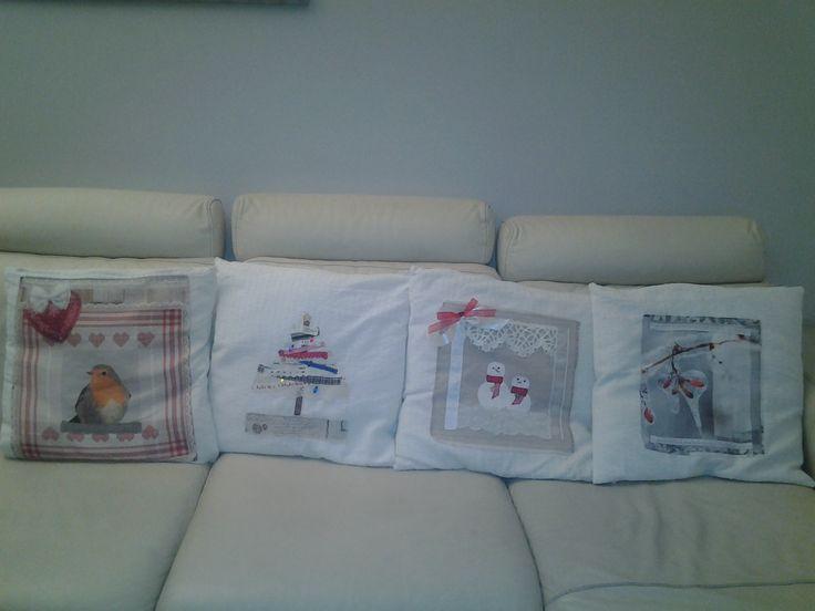 My Christmas cushions