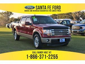 2013 Ruby Red Metallic Tinted Clearcoat Ford F-150 Lariat 38111S