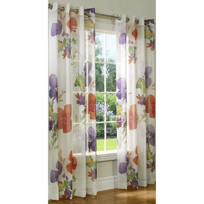 Darby Home Co Searles Grommet Single Curtain Panel & Reviews | Wayfair