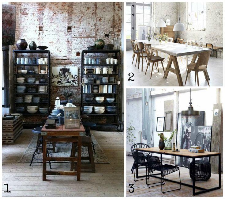 Souvent Oltre 25 fantastiche idee su Casa stile industriale su Pinterest  ZH06