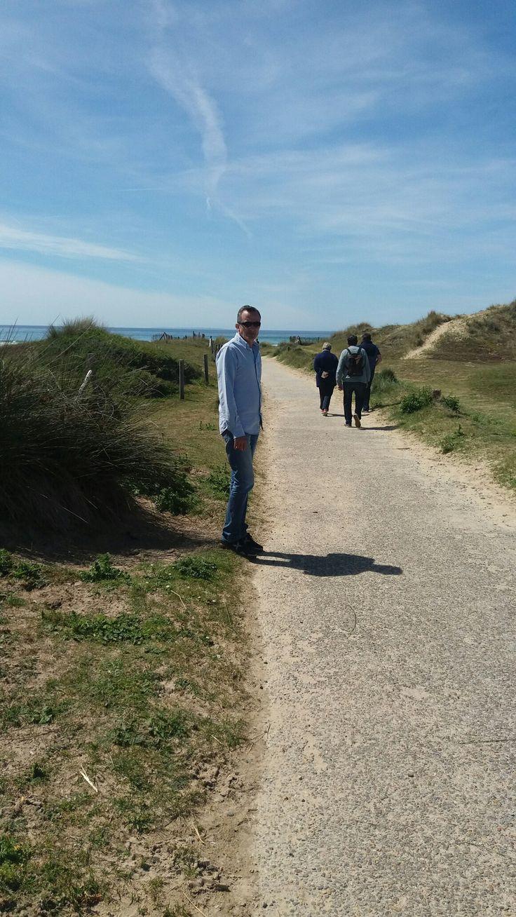 Playas de Normandia...Francia...dia de sol