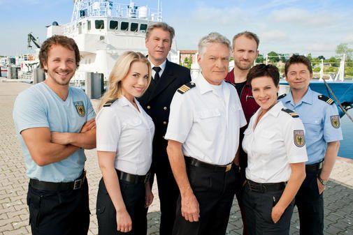 Die Crew der Küstenwache - Ben Asmus, Pia Cornelius, Holger Ehlers, Saskia Berg, Hermann Gruber, Marten Feddersen, Kai Norge