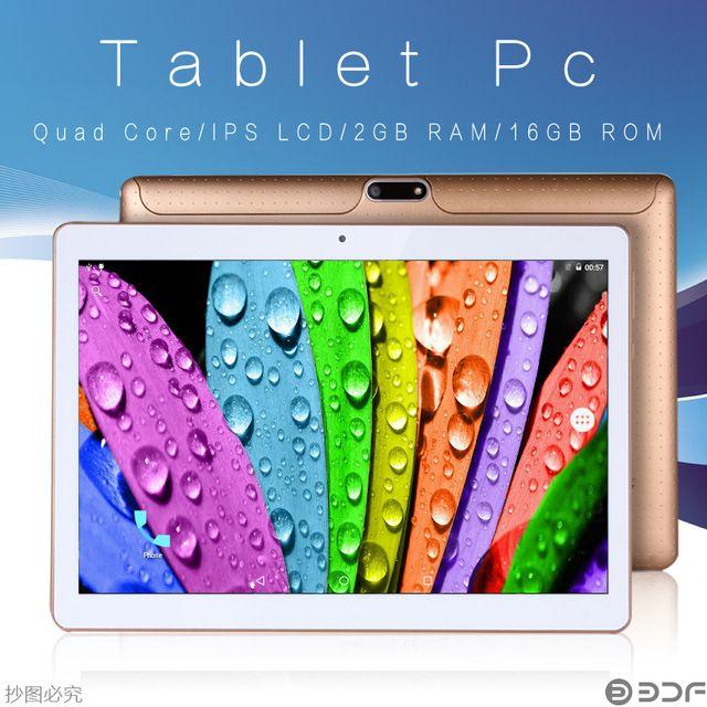10 Дюймов Дизайн Android 5.1 Tablet Pc 4 ГБ Ram 32 ГБ Rom Dual СИМ-Карты 2 Г 3 Г Сеть Pad IPS ЖК-Таблетки Телефонный Звонок Мини Pad