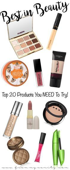 Best of Beauty | Top 20 Makeup Products You NEED to Try | Favorite Products in 2016