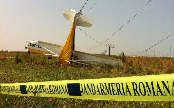 Accident de avion langa Iasi