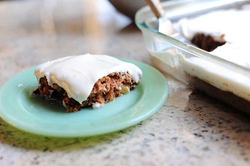 Pineapple Zucchini Sheet Cake with Cream Cheese Frosting | 35 ...