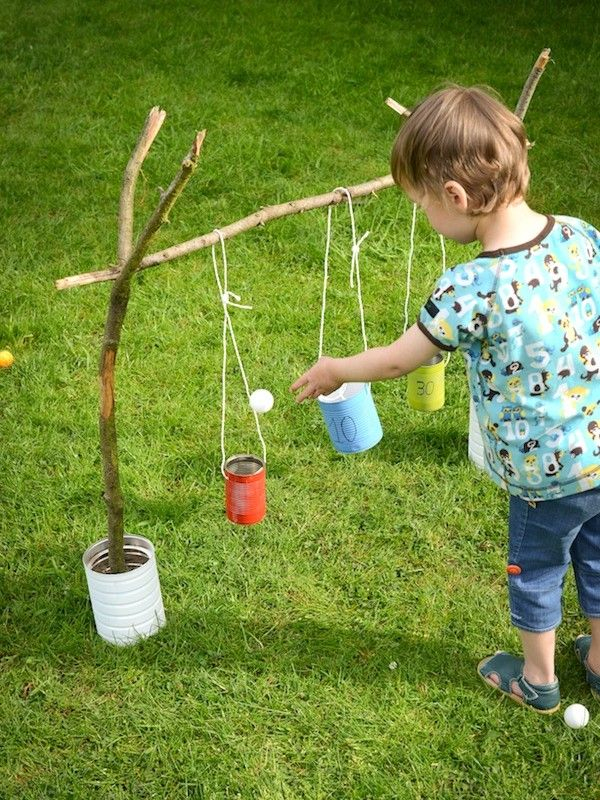 DIY Blik : Blitse Blikkenvangers buitenspel voor kids