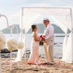 Boda, playa, sunset, beach wedding, Costa Rica, destination wedding, elopements, couple, retrato de pareja, portrait, bride and groom, Renewal of Vows, Renovación de votos