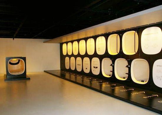 Dormir dans une capsule -  Hotel Capsules à Tokio au Japon
