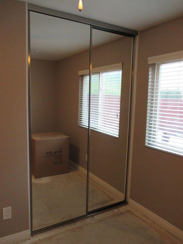 109 Best 2 Panels2tracks Aluminum Frame Sliding Closet Doors Images