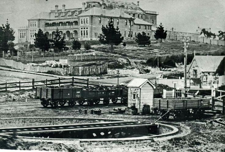 Katoomba in 1890 showing the Carrington.