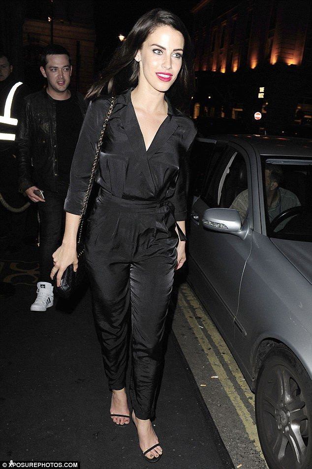 Continuing the party vibe! Jessica Lowndes was spotted leaving London's Mahiki nightclub a...