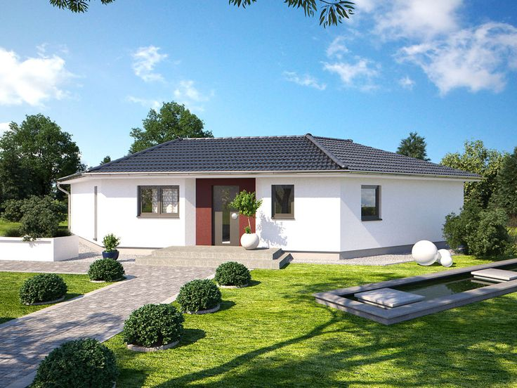 13 best images about hanlo haus bungalow serie on for Bungalow haus modern