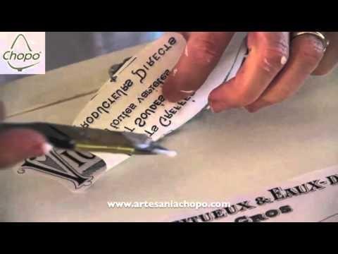 T cnica de transferencia con papel para decorar cajas de - Manualidades con cajas de madera ...